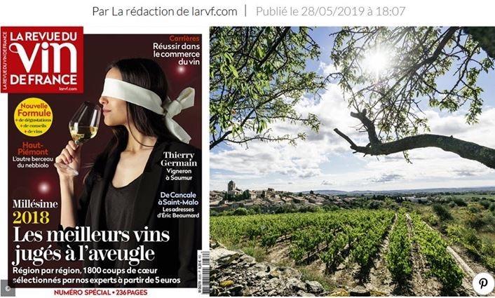 Sélection par la Revue des Vins de France.
