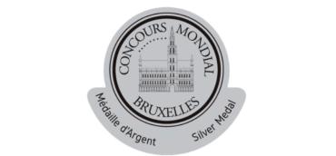 Médaille d'Argent au Concours Mondial de Bruxelles