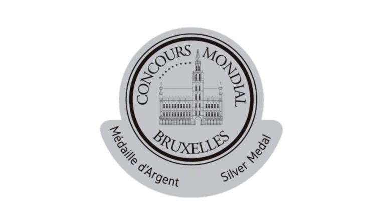 2 Médailles d'Argent au Concours Mondial de Bruxelles